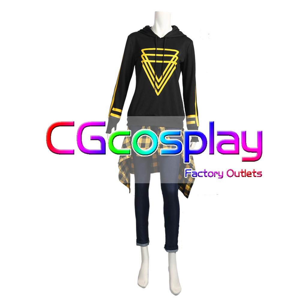 画像1: 激安!! A3!(エースリー) 夏組 斑鳩三角 私服 パーカー コスプレ衣装 (1)