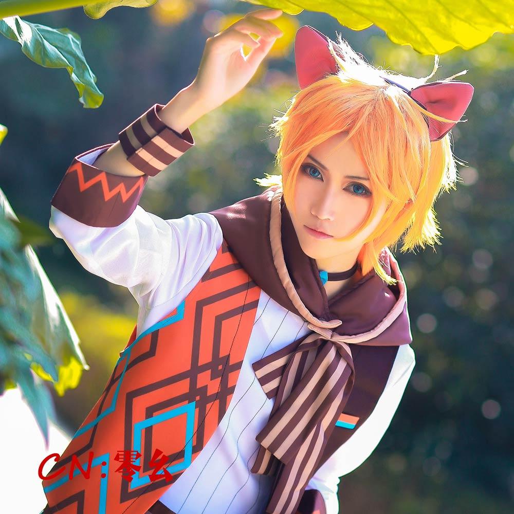 画像1: 激安!! A3!(エースリー) 夏組 にぼしを巡る冒険 皇天馬 コスプレ衣装 (1)