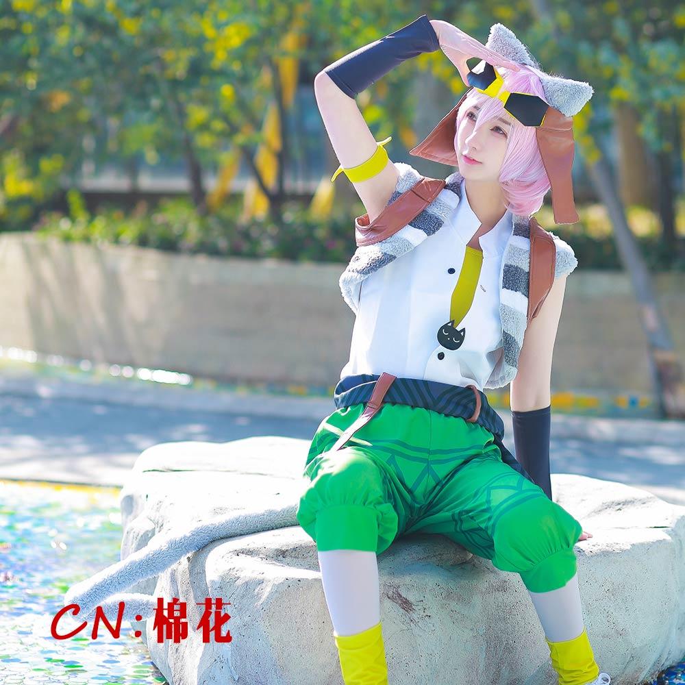画像1: 激安!! A3!(エースリー) 夏組 にぼしを巡る冒険 向坂椋 コスプレ衣装 (1)