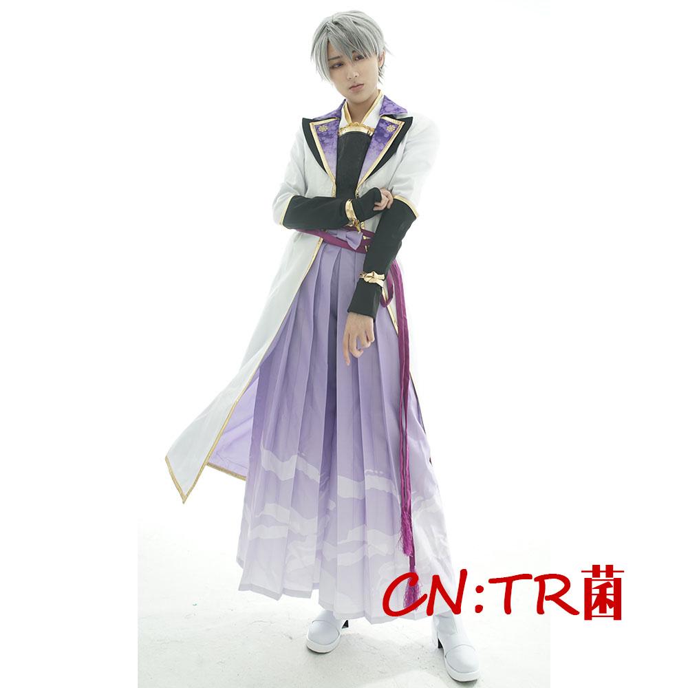 画像1: 激安!! イケメン戦国 時をかける恋 新たなる出逢い 石田三成 コスプレ衣装 (1)