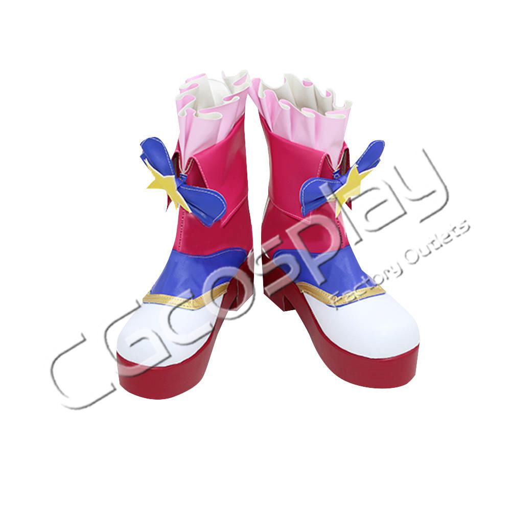 アイカツ 大空あかり ピンクパレード コスプレ靴コスプレ衣装 安い