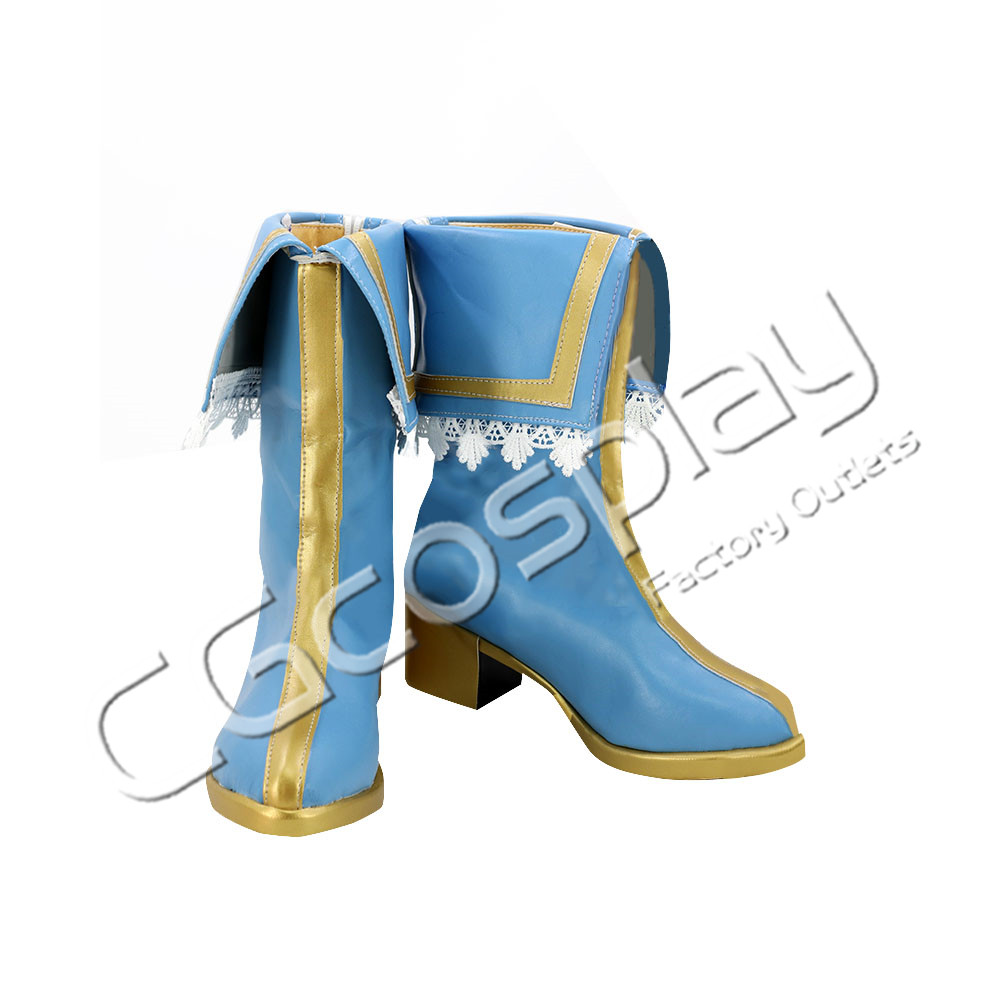 画像1: 激安!! BanG Dream バンドリ Poppin'Party 花園たえ コスプレ靴/ブーツ コスプレ衣装 (1)