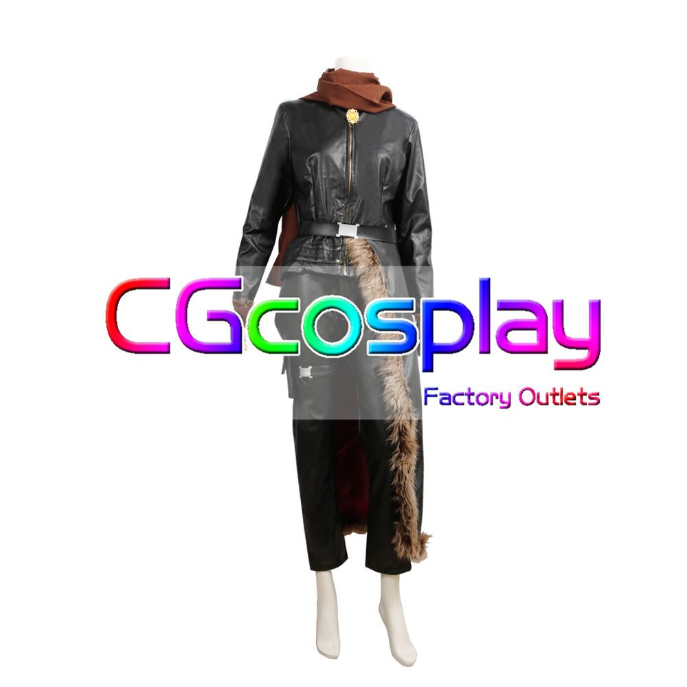 画像1: 激安!! FINAL FANTASY XV アラネア・ハイウインド コスプレ衣装 (1)