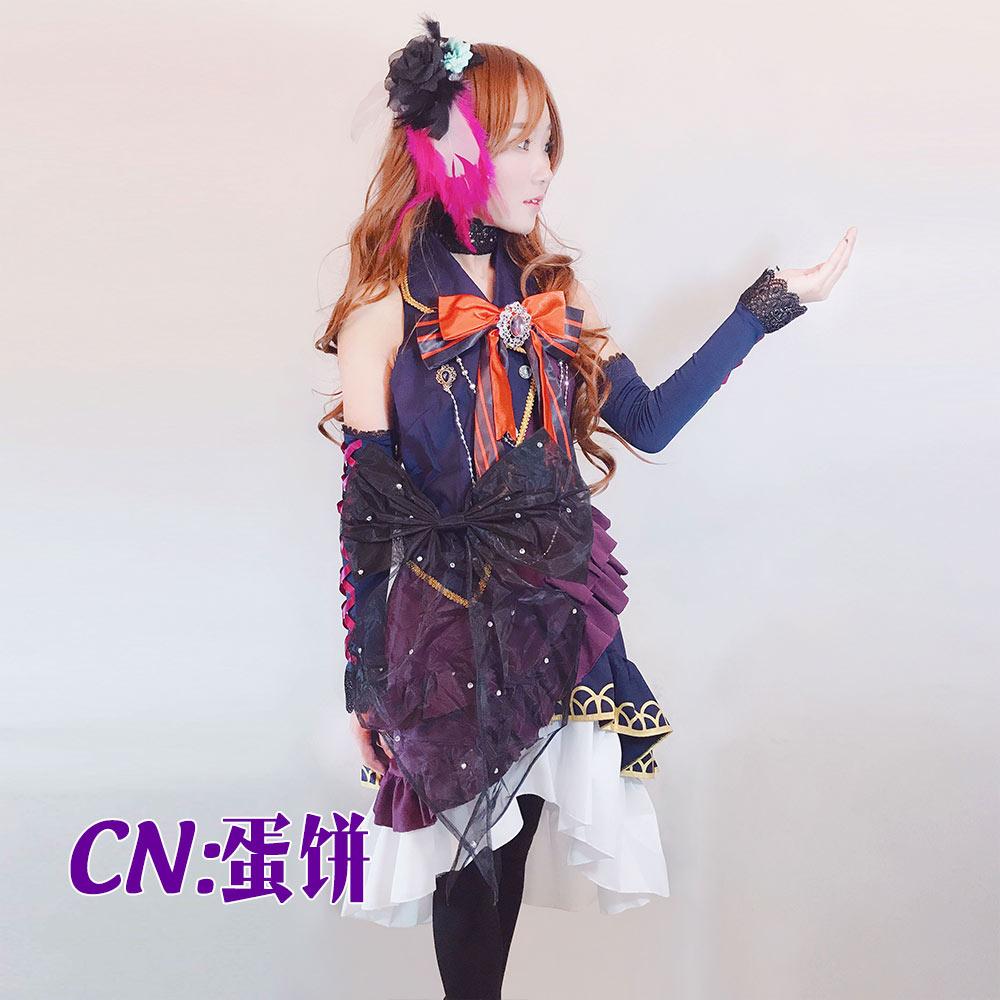 バンドリ) BLACK SHOUT Roselia ロゼリア 今井リサ コスプレ衣装 [CG165]