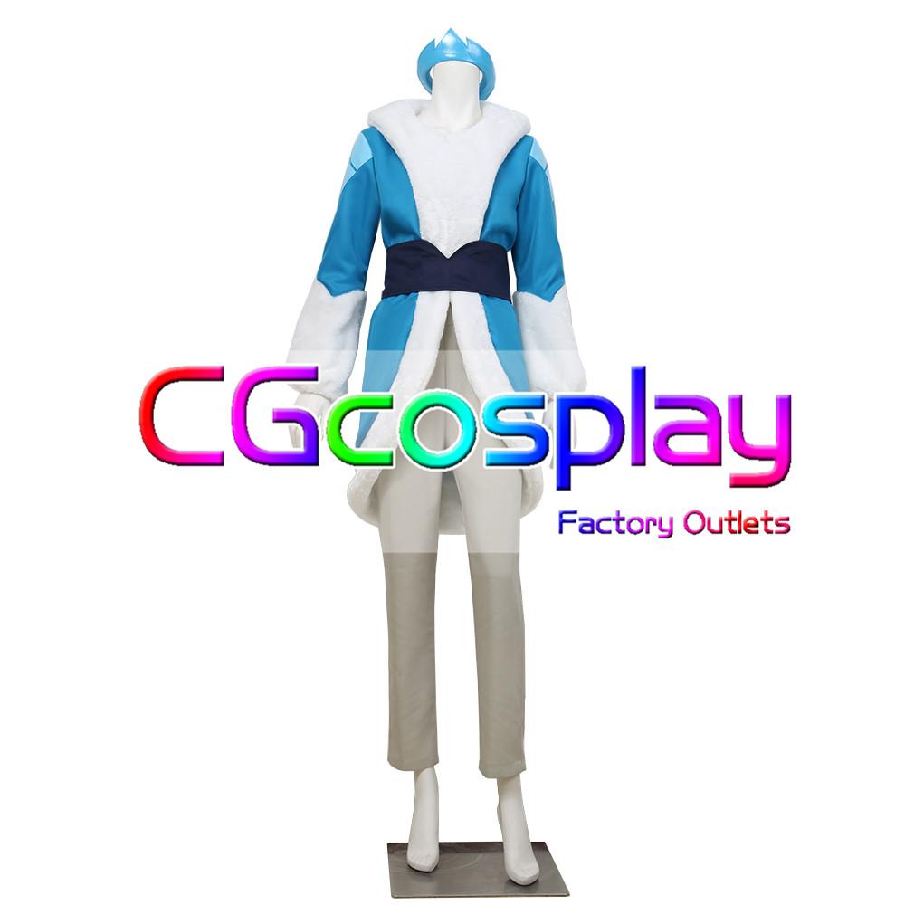 画像1: 激安!! シーラとプリンセス戦士/She-Ra: Princess of Power Frosta コスプレ衣装 (1)