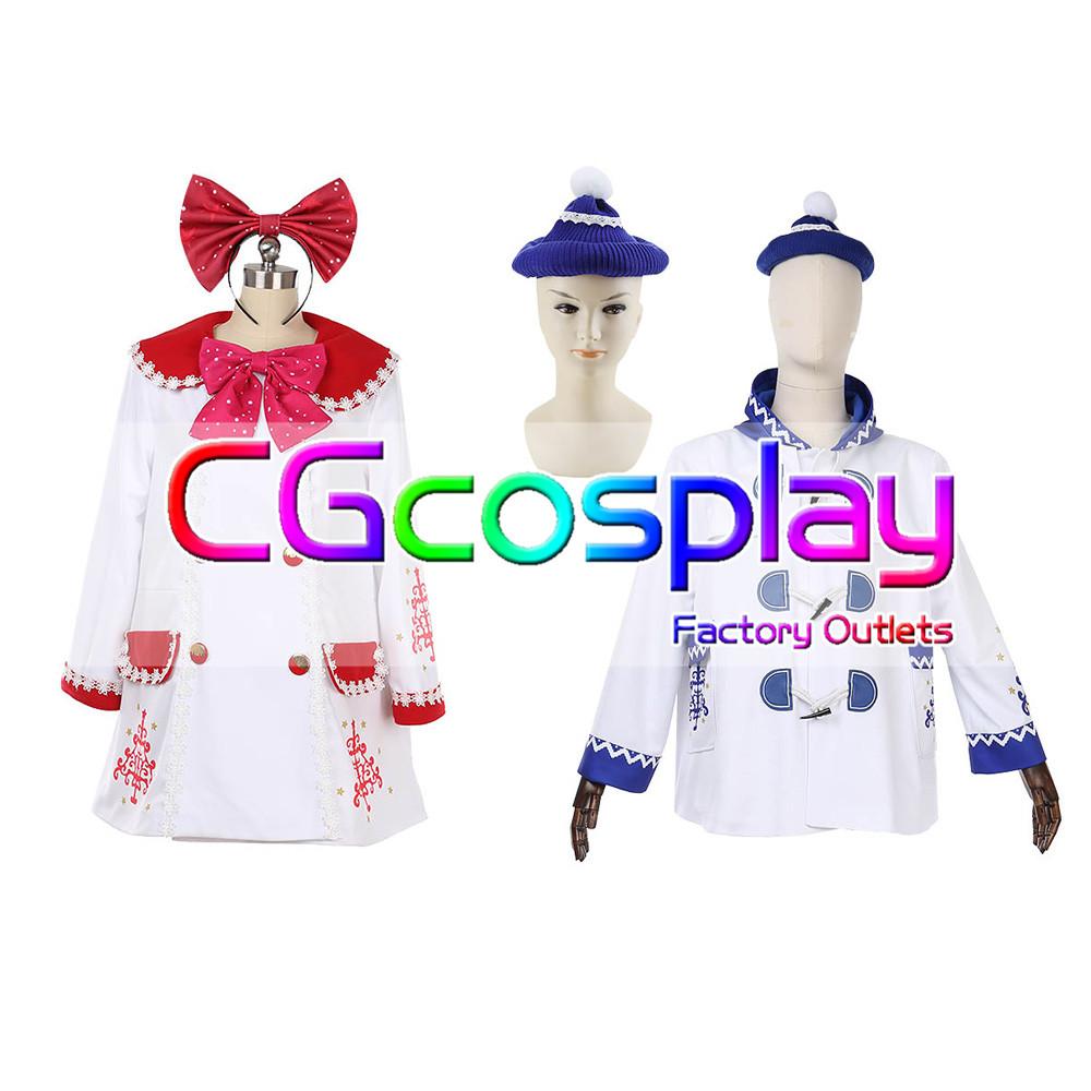 画像1: 激安!! 東京ディズニーシー ダッフィーのクリスマス2018  コスプレ衣装  (1)