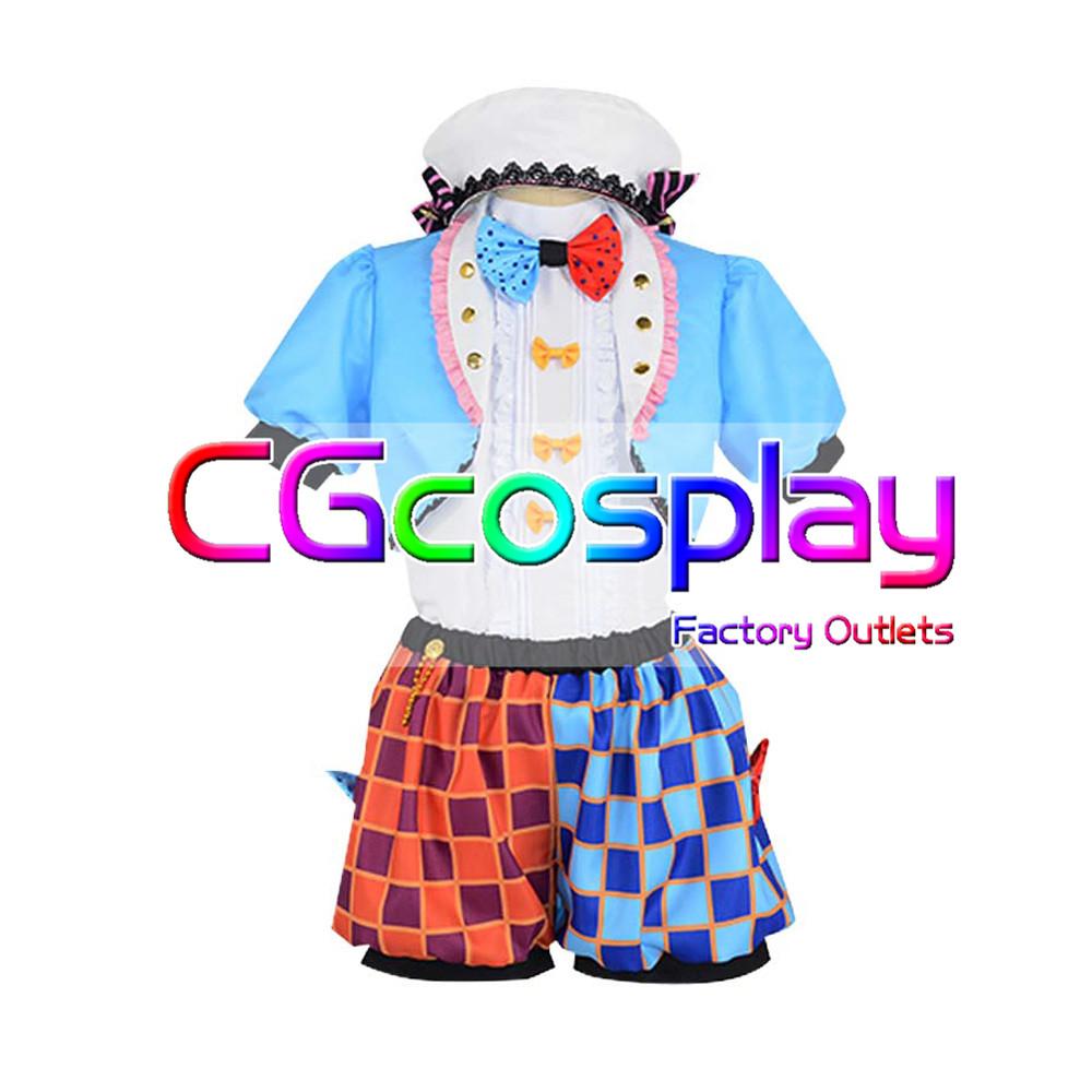 画像1: 激安!! THE IDOLM@STER CINDERELLA GIRLS 双葉杏 恒常SSR ぐうたら王国 コスプレ衣装  (1)