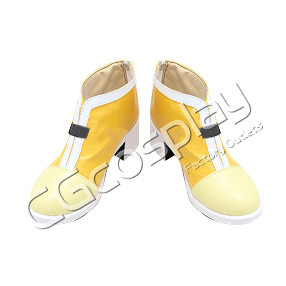 画像1: 激安!! 英雄伝説 閃の軌跡IV -THE END OF SAGA- エステル・ブライト コスプレ靴/ブーツ コスプレ衣装 (1)