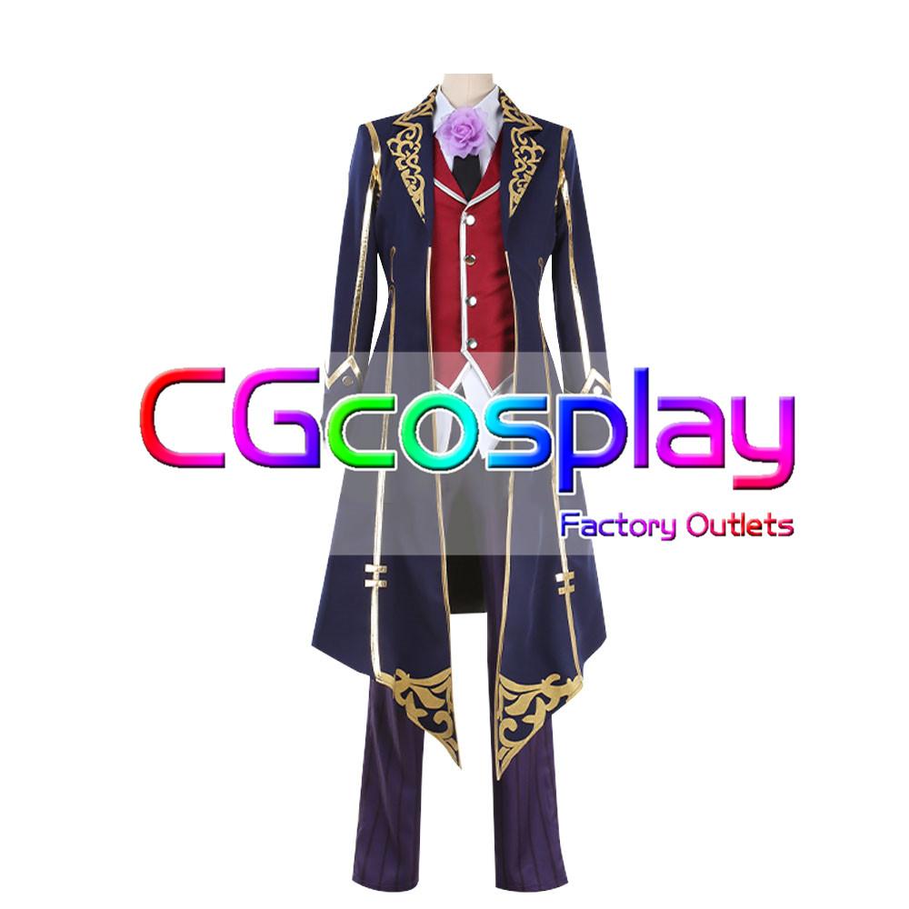 画像1: 激安!! IdentityV アイデンティティV 第五人格 写真家 ジョゼフ 月下の紳士 コスプレ衣装 (1)