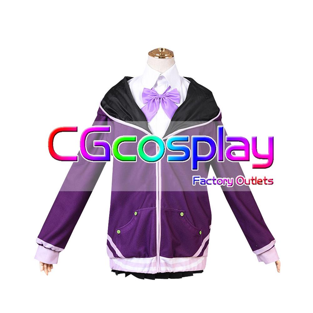 画像1: 激安!! SSSS.GRIDMAN(グリッドマン) 新条 アカネ コスプレ衣装 (1)
