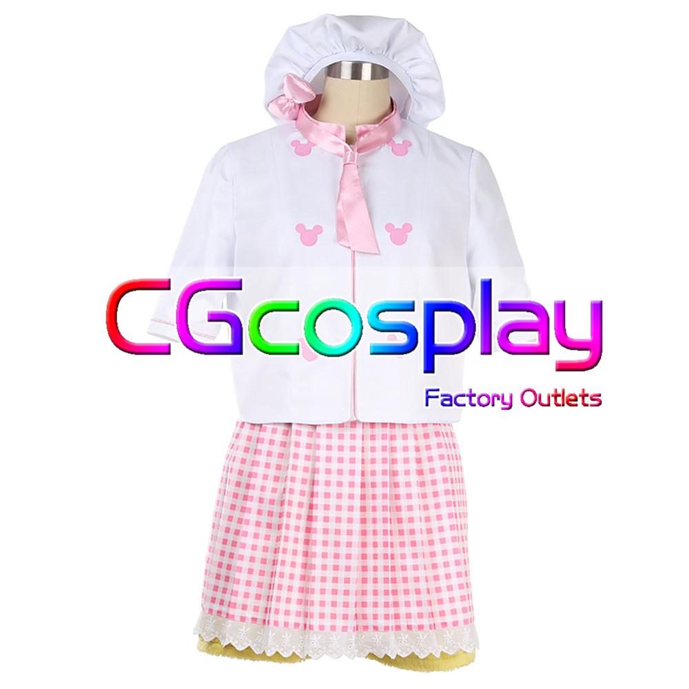 画像1: 激安!! 香港ディズニー Cookie クッキー コスプレ衣装 (1)