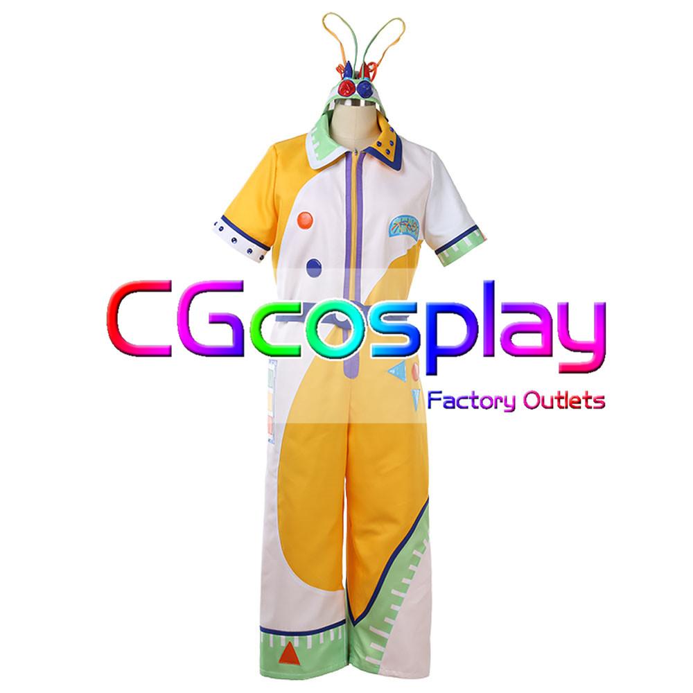 画像1: 激安!! 東京ディズニー  うさたま大脱走! Max Goofy マックス グーフィーコスプレ衣装 (1)