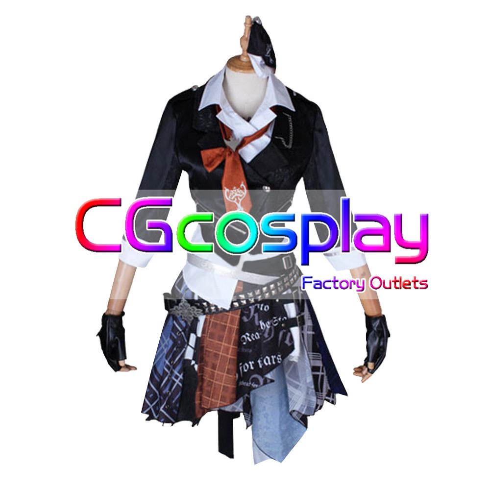 画像1: 激安!! THE IDOLM@STER CINDERELLA GIRLS デレステ ガールズ・イン・ザ・フロンティア 村上巴 コスプレ衣装 (1)