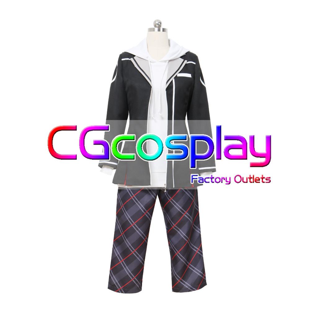 画像1: 激安!! バーチャルYouTuber ゲーム部プロジェクト 風見 涼 コスプレ衣装 (1)