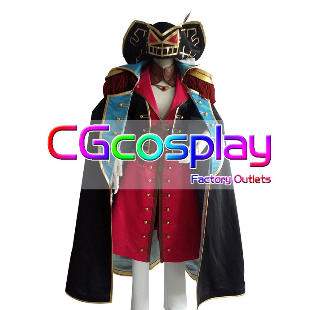 画像1: 激安!! Fate/Grand Order フェイト・グランドオーダー フランシス・ドレイク  コスプレ衣装 (1)