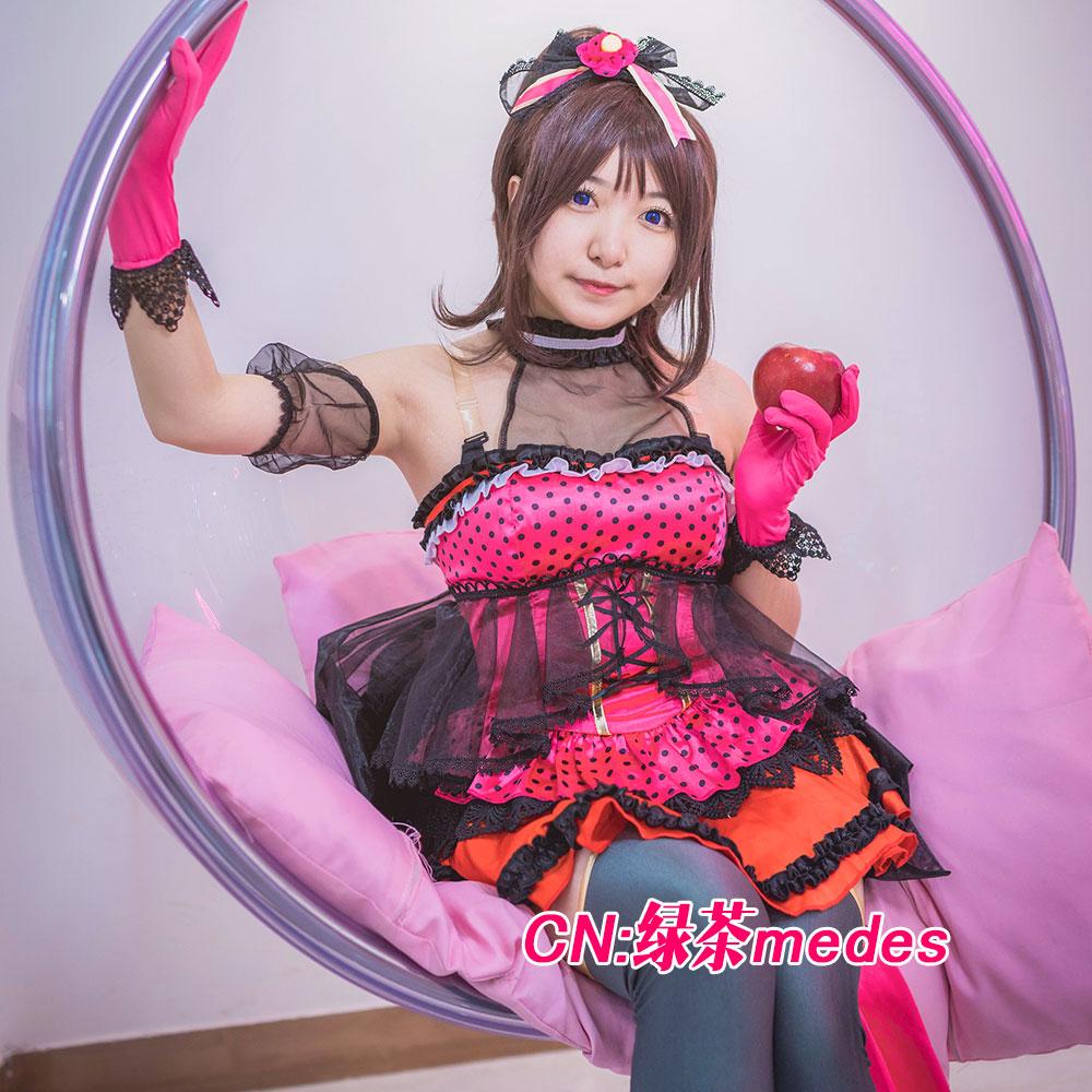 画像1: 激安!! BanG Dream!(バンドリ) Poppin'Party ロミオとシンデレラ 戸山香澄 コスプレ衣装 (1)