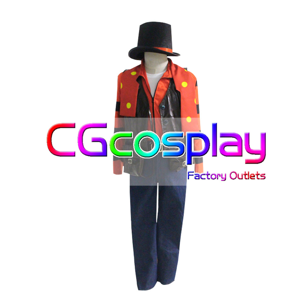 画像1: 激安!! IdentityV アイデンティティV第五人格 道化師 初期衣装 ジョーカー コスプレ衣装 (1)