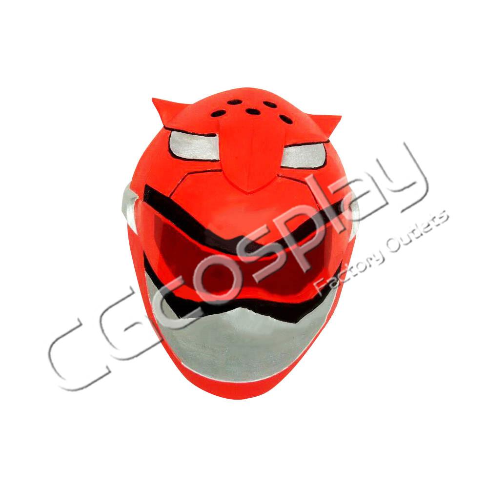 画像1: 激安!! マイティ・モーフィン・パワーレンジャー レッドレンジャー マスク コスプレ道具 コスプレ衣装 (1)