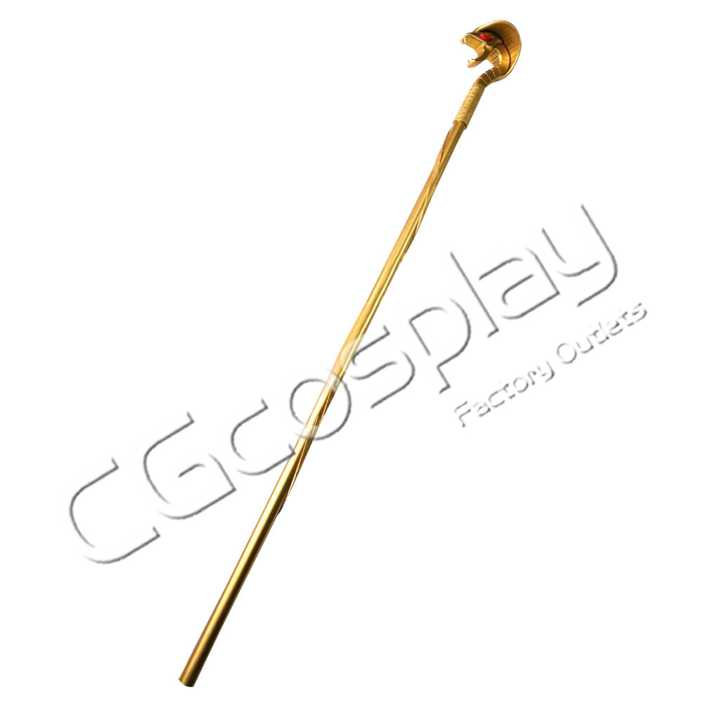 画像1: 激安!! アラジン 魔法使い 蛇の杖 コスプレ道具 コスプレ衣装 (1)