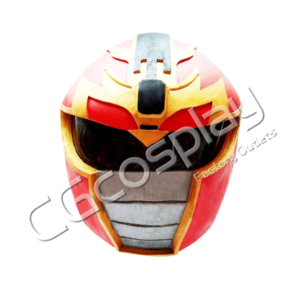 画像1: 激安!! スーパー戦隊 レッドレンジャー マスク コスプレ道具 コスプレ衣装 (1)