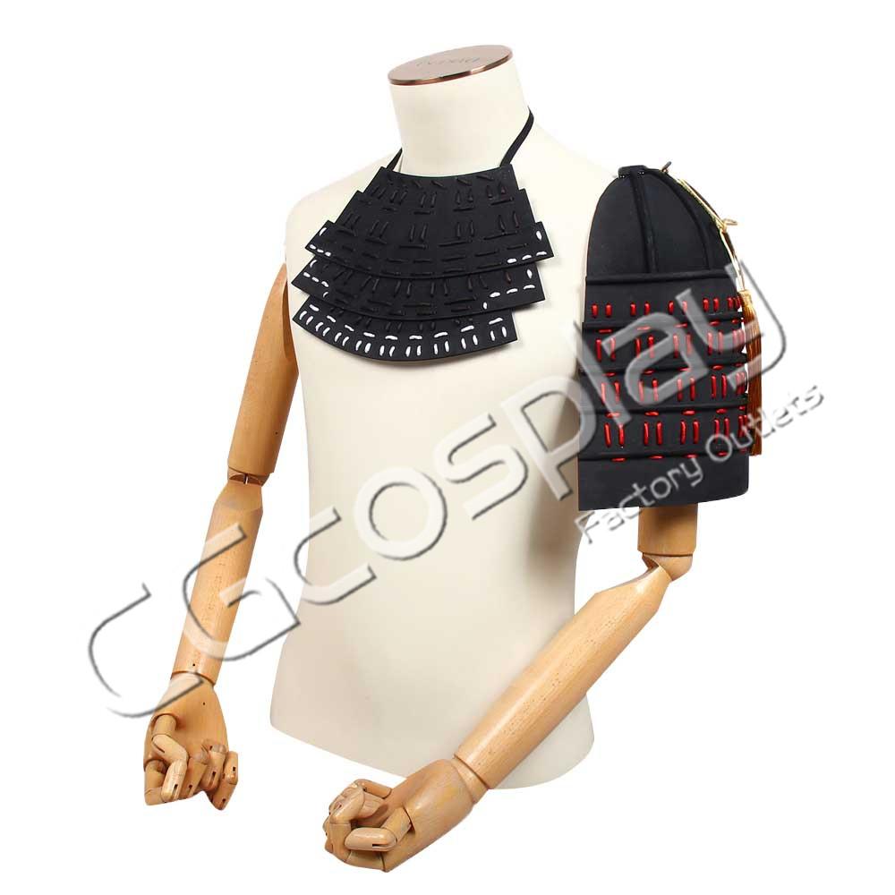 画像1: 激安!! 刀剣乱舞 同田貫正国 戦衣装 胸当て コスプレ道具 コスプレ衣装 (1)