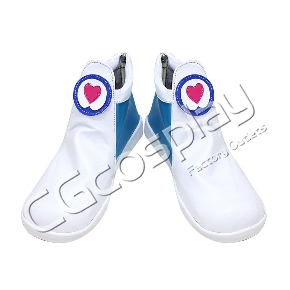 画像1: 激安!! スター☆トゥインクルプリキュア 羽衣ララ(キュアミルキー) コスプレ靴/ブーツ コスプレ衣装 (1)