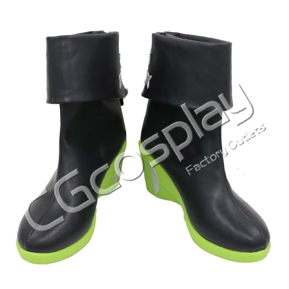 画像1: 激安!! アークナイツ ARK NIGHTS ガビル Gavial 精英化2 コスプレ靴/ブーツ コスプレ衣装 (1)