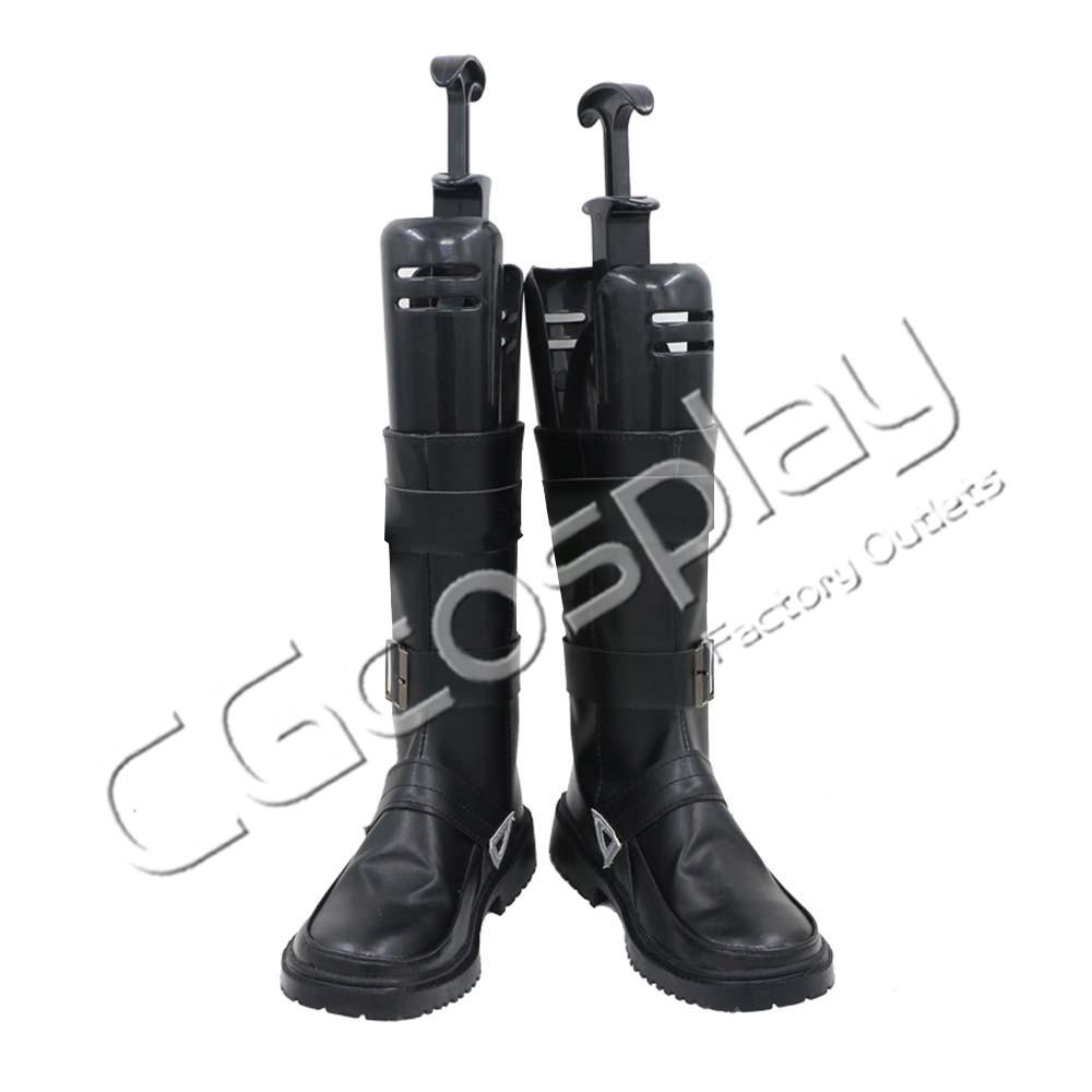 画像1: 激安!! アークナイツ ARK NIGHTS フロストリーフ Frostleaf コスプレ靴/ブーツ コスプレ衣装 (1)