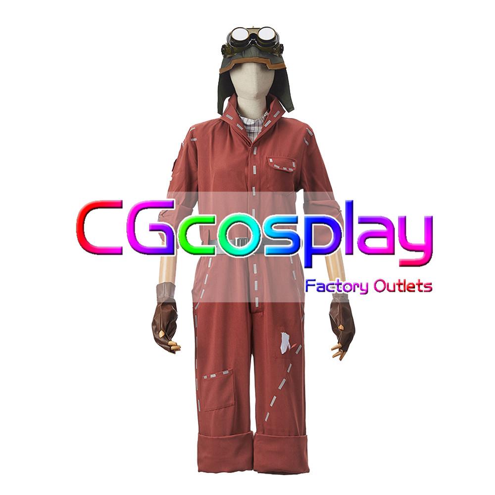 画像1: 激安!! IdentityV アイデンティティV 第五人格 機械技師 トレイシー・レズニック 初期衣装 コスプレ衣装 (1)