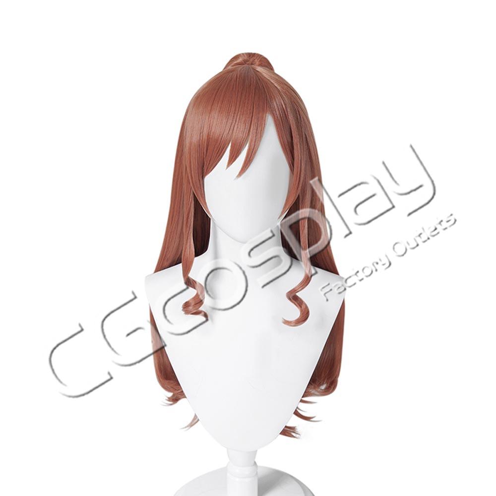 画像1: 激安!! BanG Dream!(バンドリ) Roselia 今井リサ コスプレウィッグ コスプレ衣装 70cm (1)