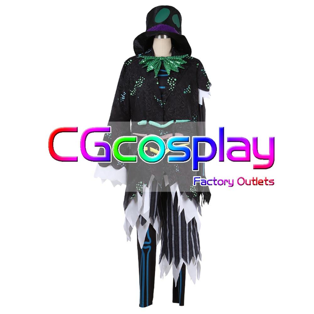 画像1: 激安!! 東京ディズニーシー Spooky Boo!Parade カラス コスプレ衣装 (1)