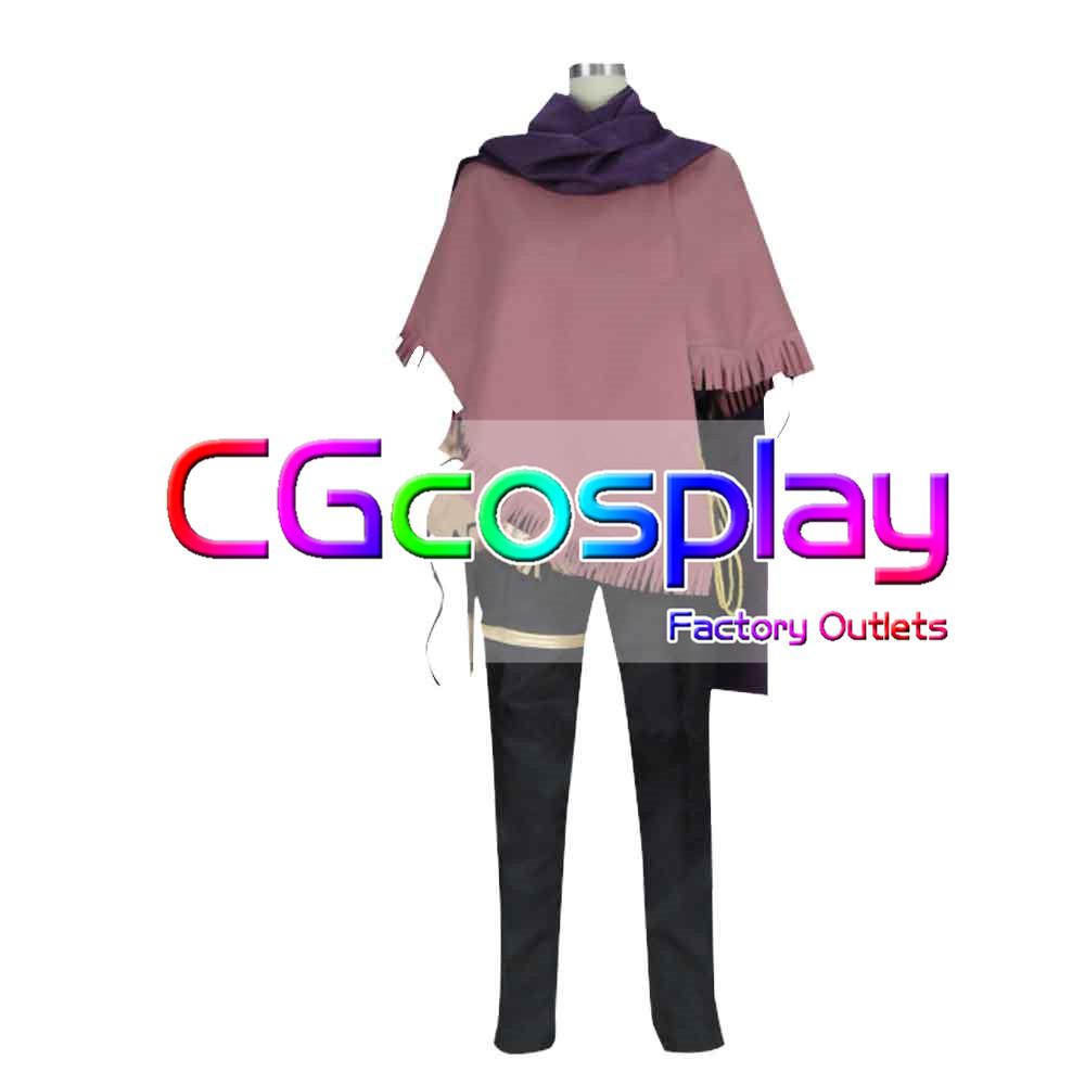 画像1: 激安!! OCTOPATH TRAVELER オクトパストラベラー 盗賊 テリオン コスプレ衣装 (1)