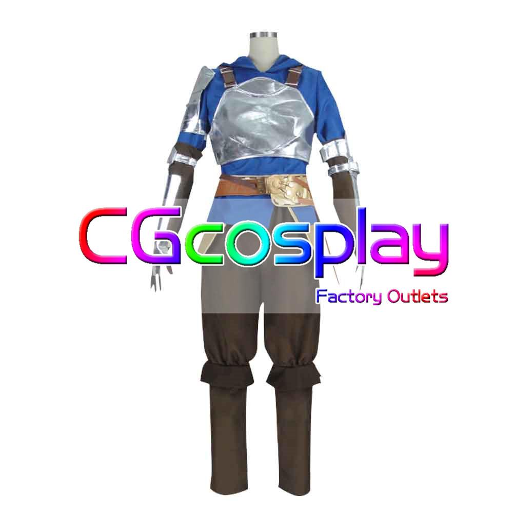 画像1: 激安!! グランブルーファンタジー 主人公 グラン コスプレ衣装 (1)