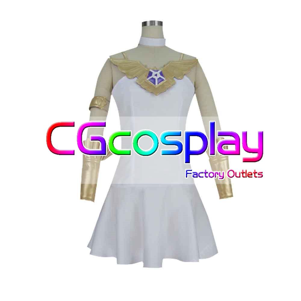画像1: 激安!! グランブルーファンタジー グラブル 蒼の少女 ルリア コスプレ衣装 (1)