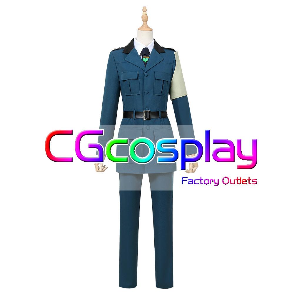 画像1: 激安!! 幼女戦記 連合王国 中佐 ウィリアム・ドレイク コスプレ衣装 (1)