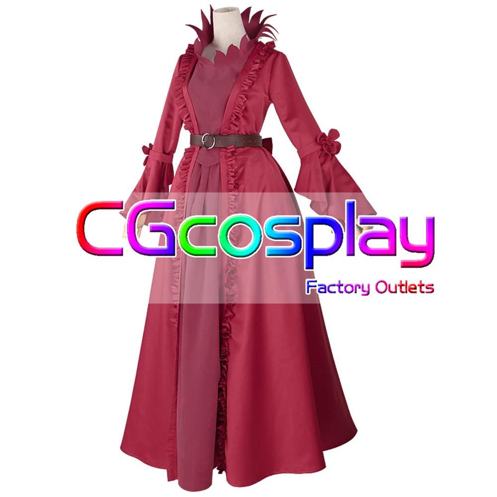 画像1: 激安!! IdentityV 第五人格 マリー 血の女王 初期衣装 コスプレ衣装 靴付き (1)