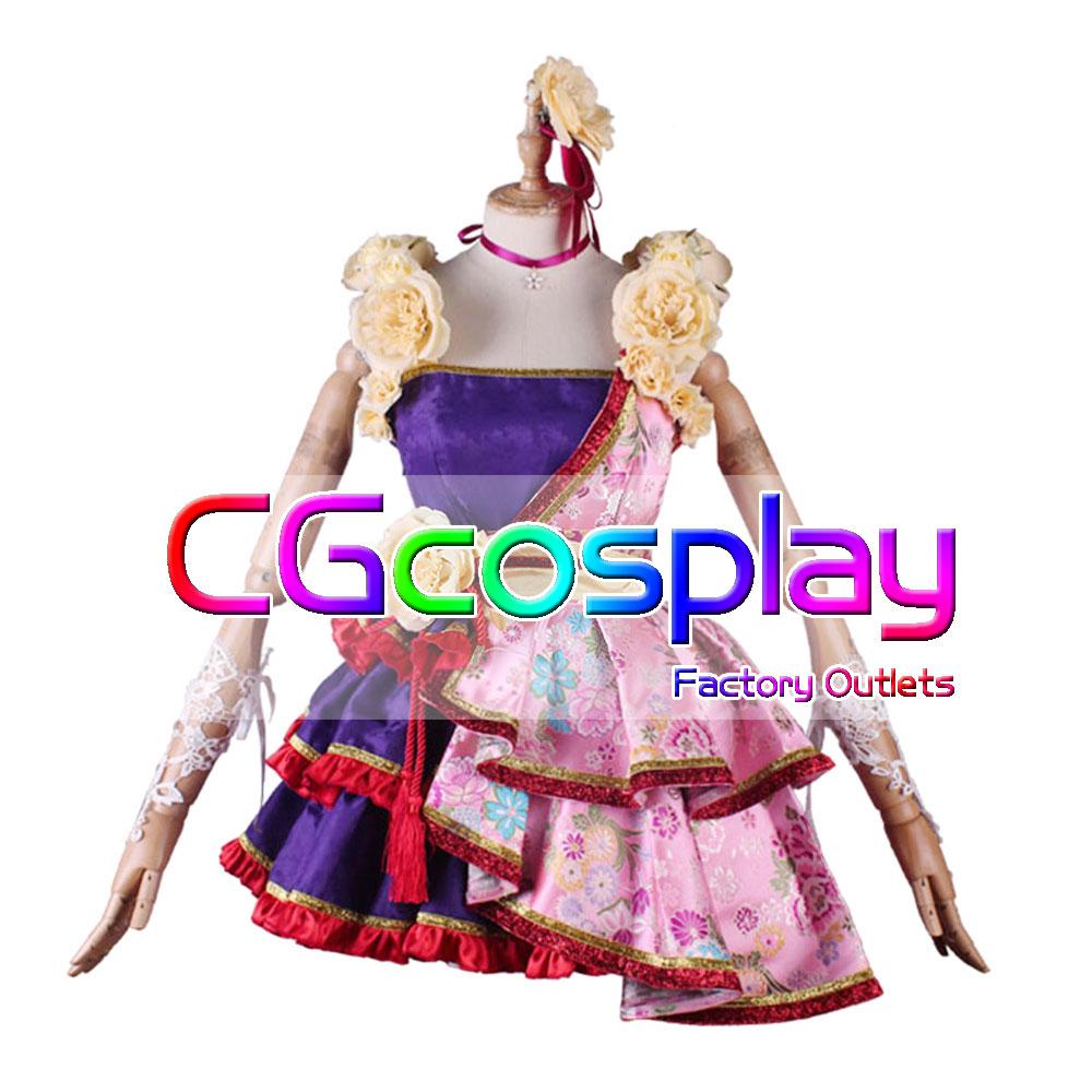 画像1: 激安!! THE IDOLM@STER CINDERELLA GIRLS 依田芳乃 山紫水明 コスプレ衣装 (1)