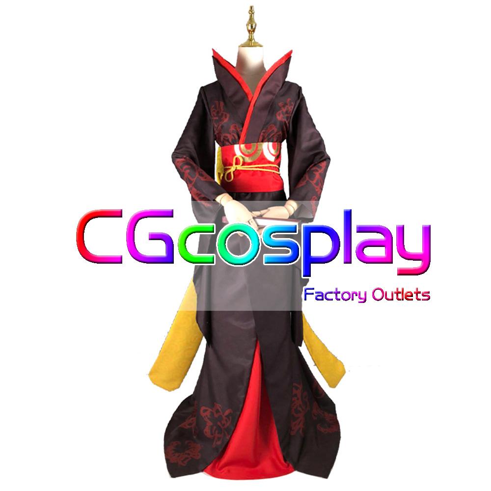 画像1: 激安! IdentityV 第五人格 芸者(美智子) 初期衣装 コスプレ衣装 (1)