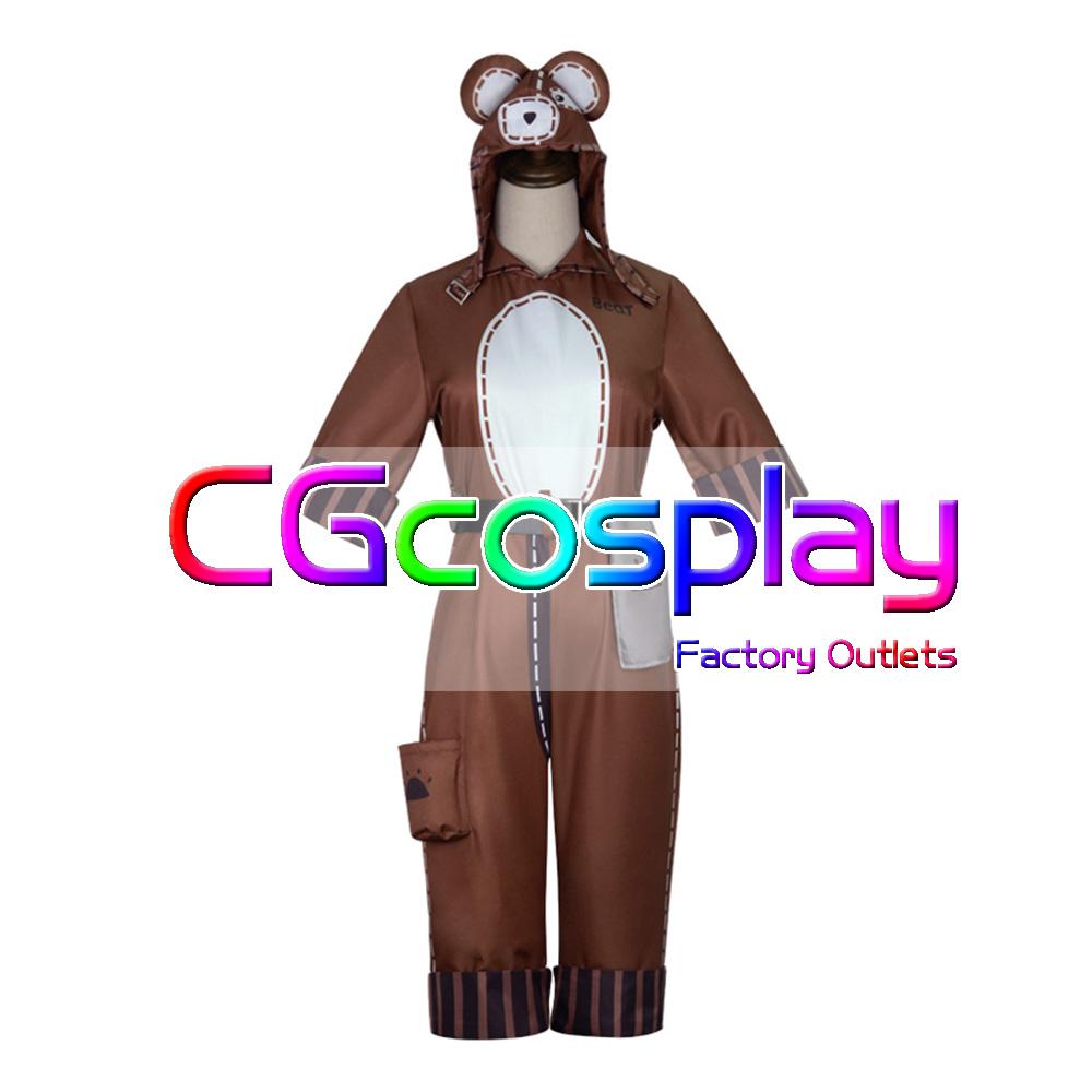画像1: 激安! IdentityV 第五人格 機械技師(トレイシー・レズニック) 熊女 コスプレ衣装 (1)