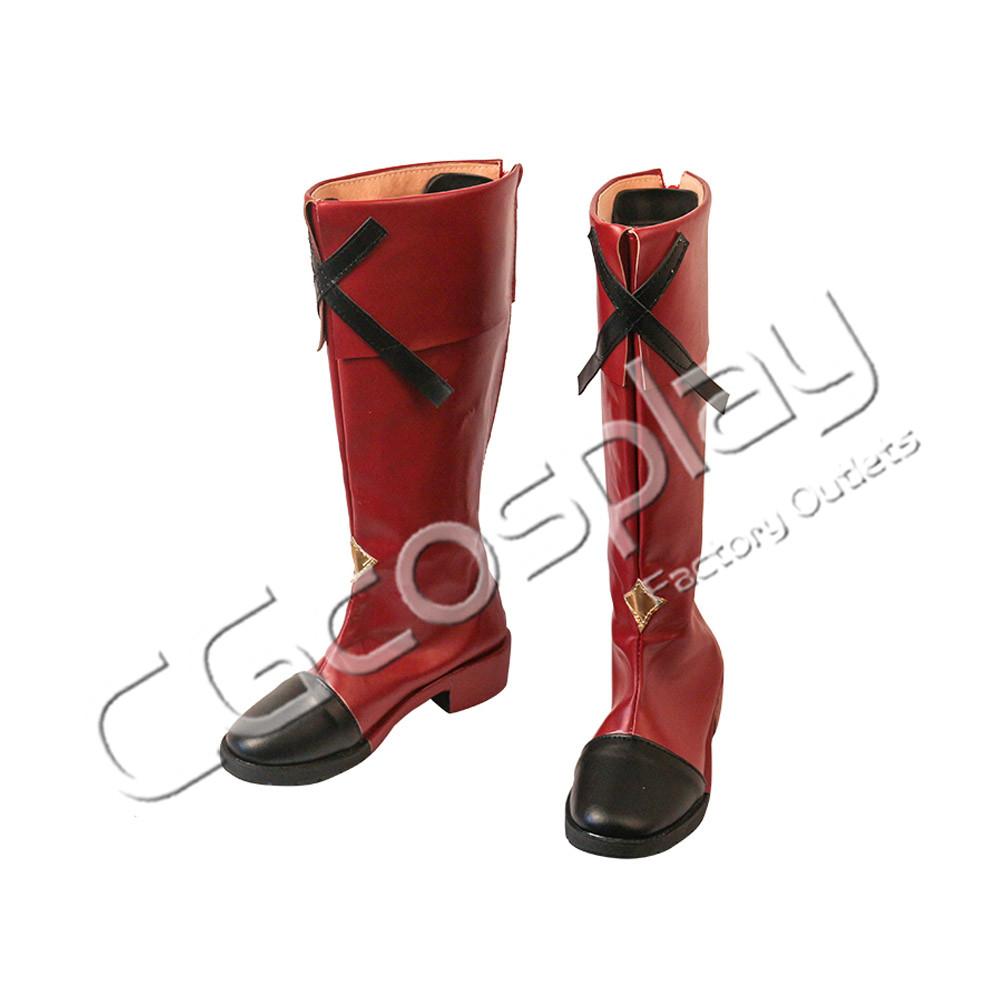 画像1: 激安!! #コンパス 戦闘摂理解析システム ソーン=ユーリエフ コスプレ靴/ブーツ コスプレ衣装 (1)