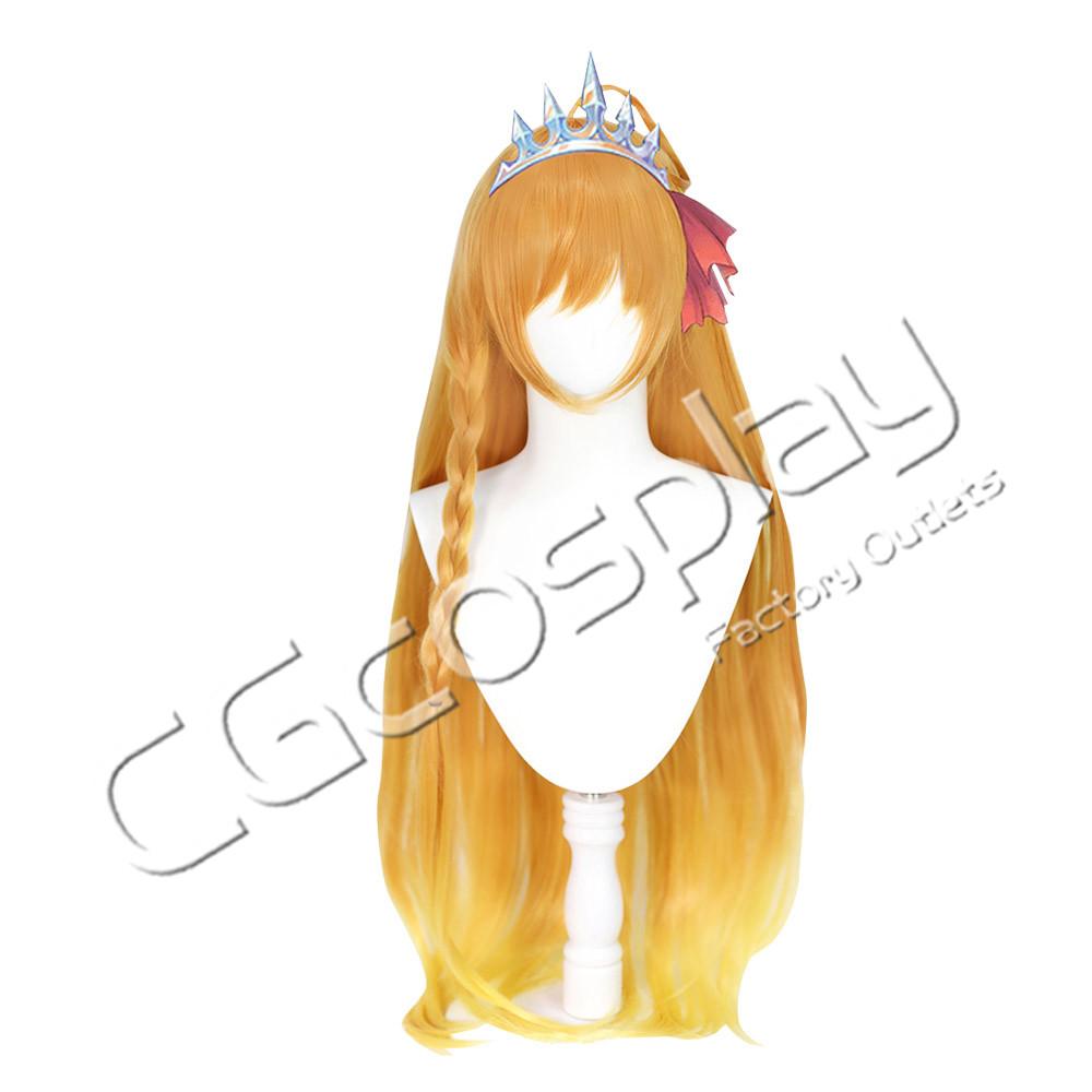 画像1: 激安!! プリンセスコネクト!Re:Dive プリコネ プリコネR Princess Connect! ペコリーヌ (ぺこりーぬ) コスプレウィッグ コスプレ衣装 100cm (1)
