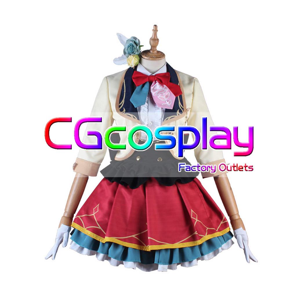 画像1: 激安! ラブライブ!スクールアイドルフェスティバルALL STARS 優木せつ菜 コスプレ衣装 (1)