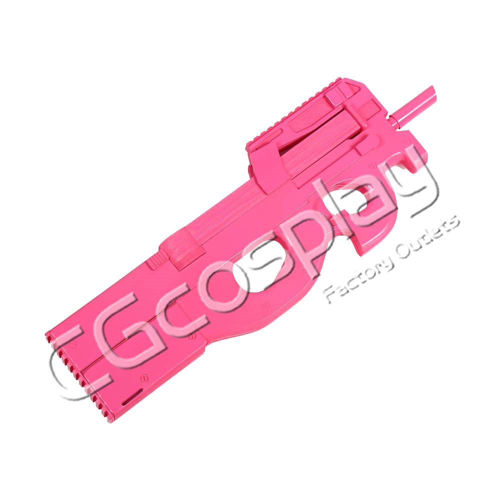 画像1: 激安!! ソードアート・オンラインオルタナティブガンゲイル・オンライン SAOAGGO P-90 銃 コスプレ道具 コスプレ衣装 (1)