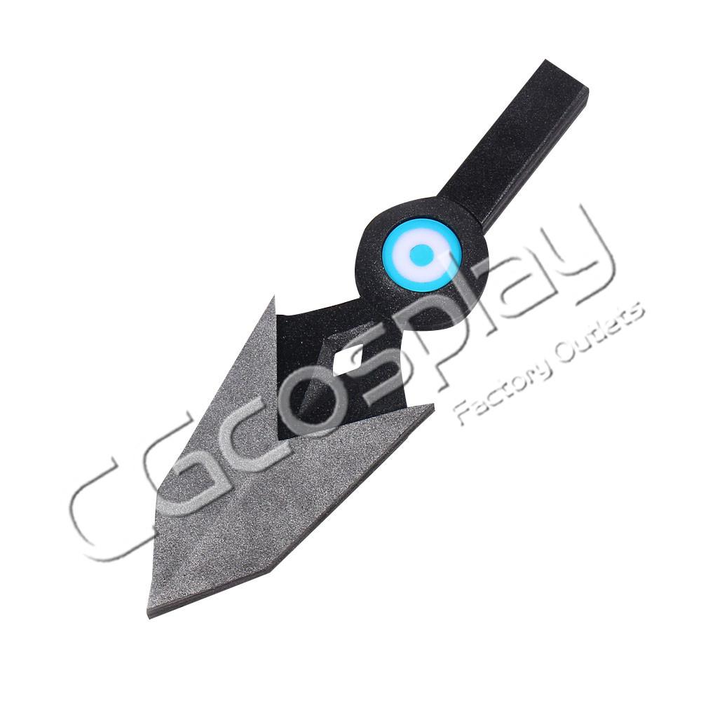 画像1: 激安!! VALORANT ヴァロラント JETT ジェット 匕首 コスプレ道具 コスプレ衣装 (1)