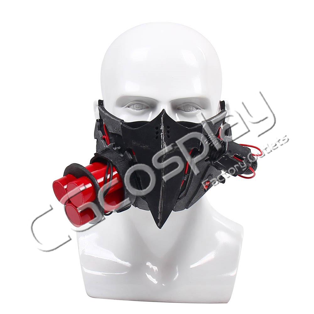 画像1: 激安!! CODE VEIN コードヴェイン Jack Rutherford ジャック・ラザフォード 仮面 コスプレ道具 コスプレ衣装 (1)
