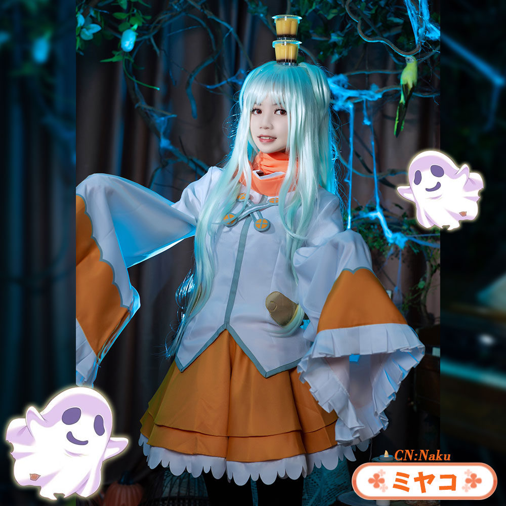 画像1: 激安!! プリンセスコネクト!Re:Dive プリコネ プリコネR Princess Connect! ミヤコ / 出雲 宮子 コスプレ衣装 (1)