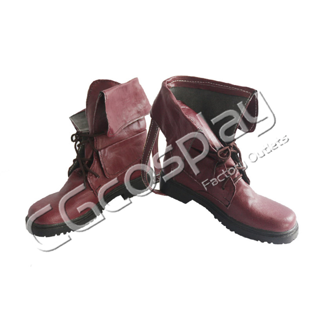 画像1: 激安!! アークナイツ ブレイズ Blaze コスプレ靴/ブーツ コスプレ衣装 (1)
