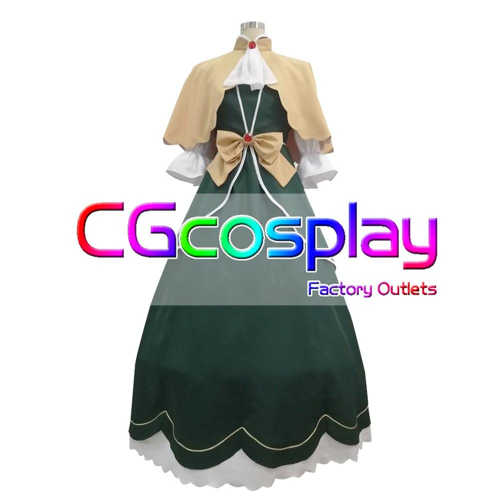 画像1: 激安!! 乙女ゲームの破滅フラグしかない悪役令嬢に転生してしまった… ソフィア・アスカルト  コスプレ衣装 (1)