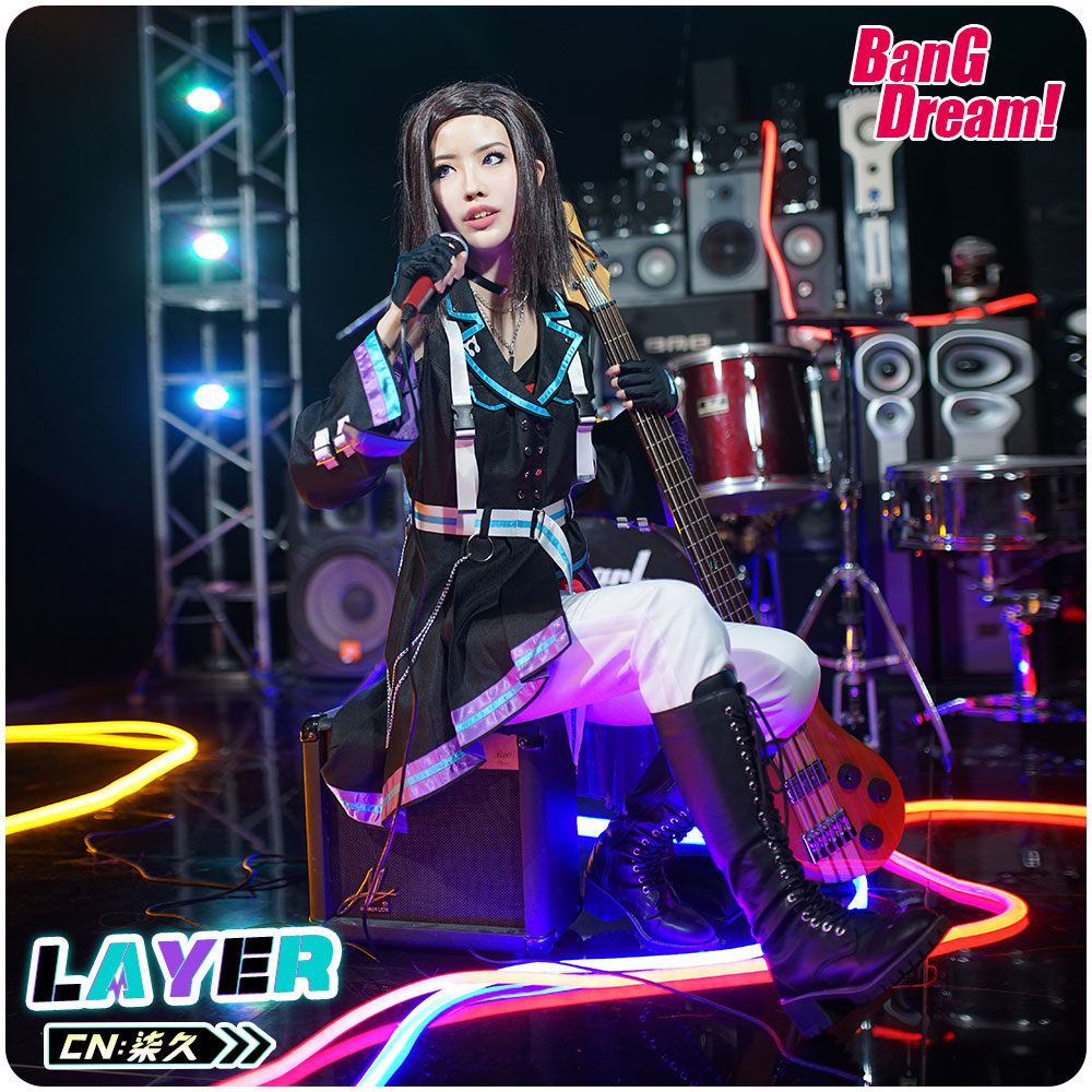 画像1: 激安!! BanG Dream!(バンドリ!) 8th☆LIVE 夏の野外3DAYS RAISE A SUILEN RAS レイヤ コスプレ衣装 (1)