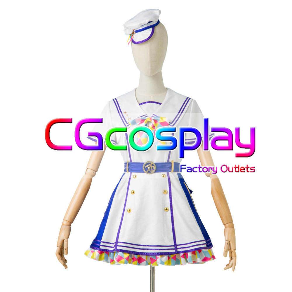 画像1: 激安!! ラブライブ!虹ヶ咲学園スクールアイドル同好会 1周年記念 Bバージョン コスプレ衣装 (1)